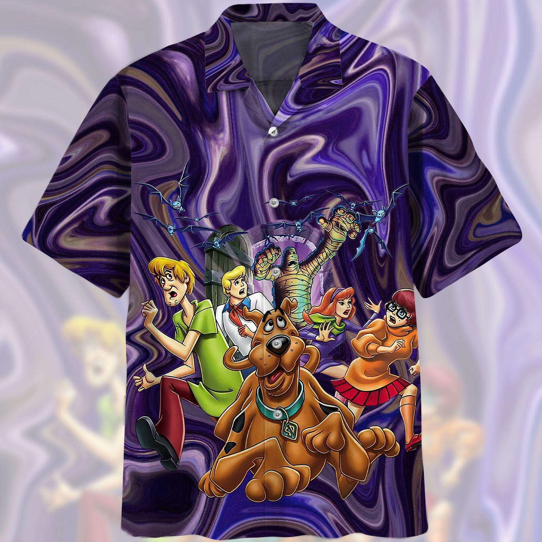 Scooby Doo WHERE ARE YOU HAWAIIAN SHIRT