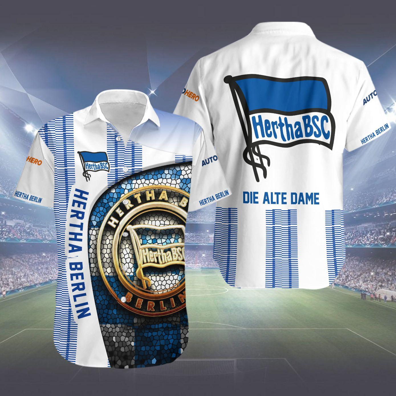 Hertha Berlin Die Alte Dame Hawaiian Shirt
