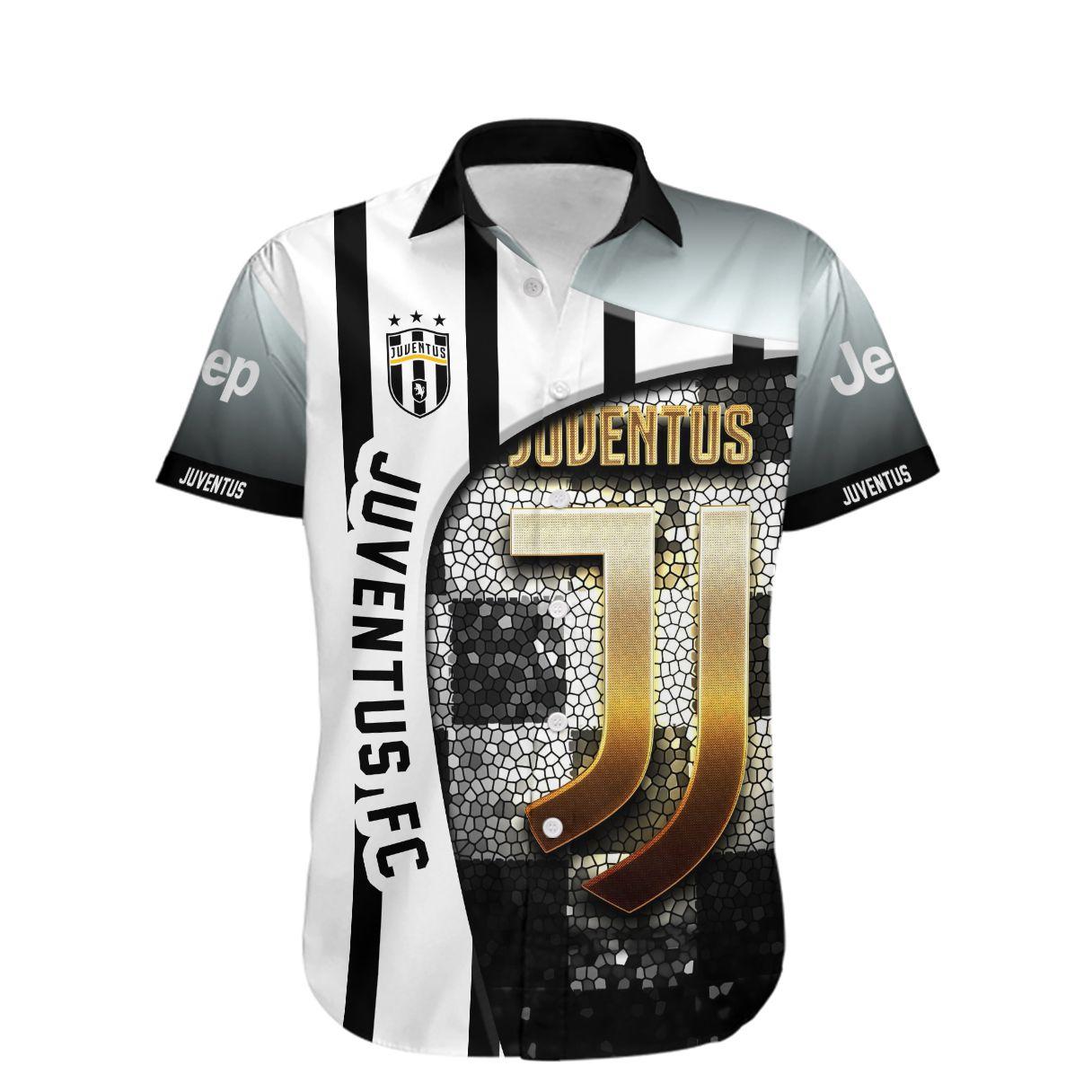 Juventus FC Hawaiian Shirt Summer Shirt