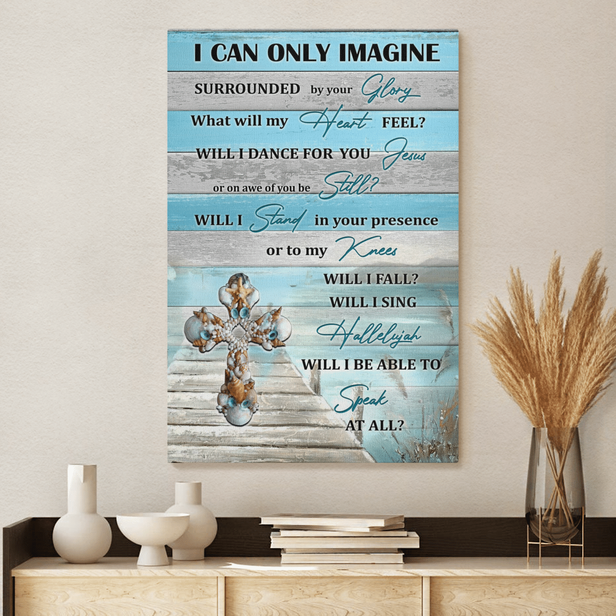 I can only imagine Surrounded by Glory canvas