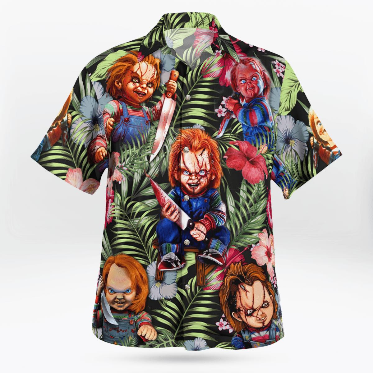 Chucky Just Wanna Have Fun Scream Hawaiian Shirt