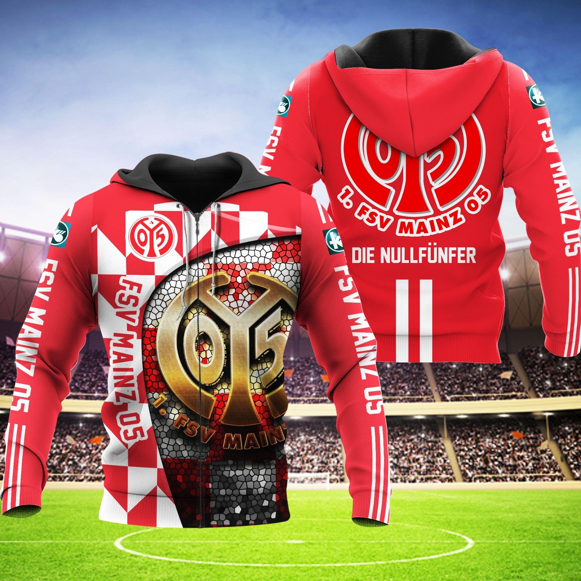 FSV Mainz 05 Hoodie 3D