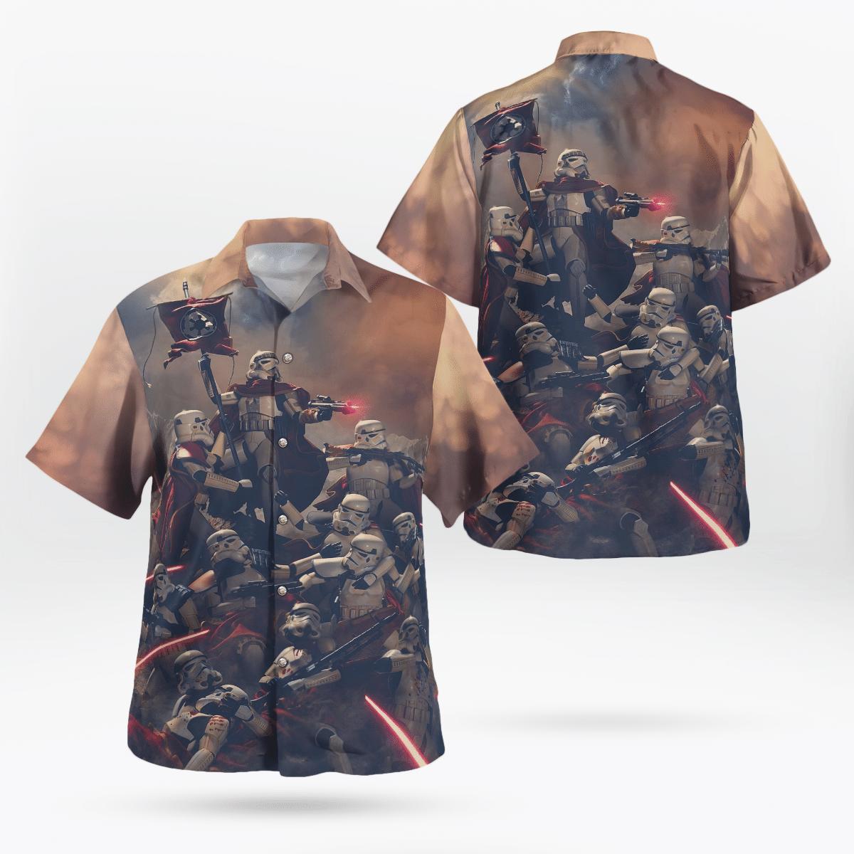 Stormtrooper Revolutionary Star wars Hawaiian Shirt