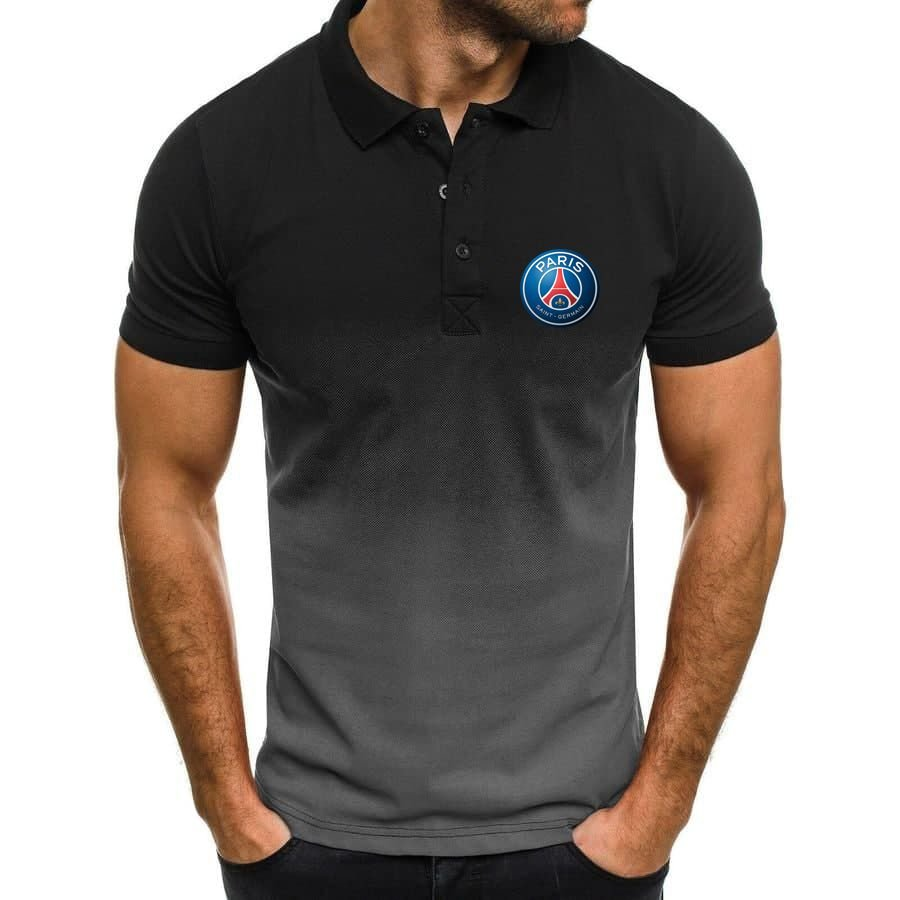 Paris Saint Germain PSG Gradient Polo Shirt