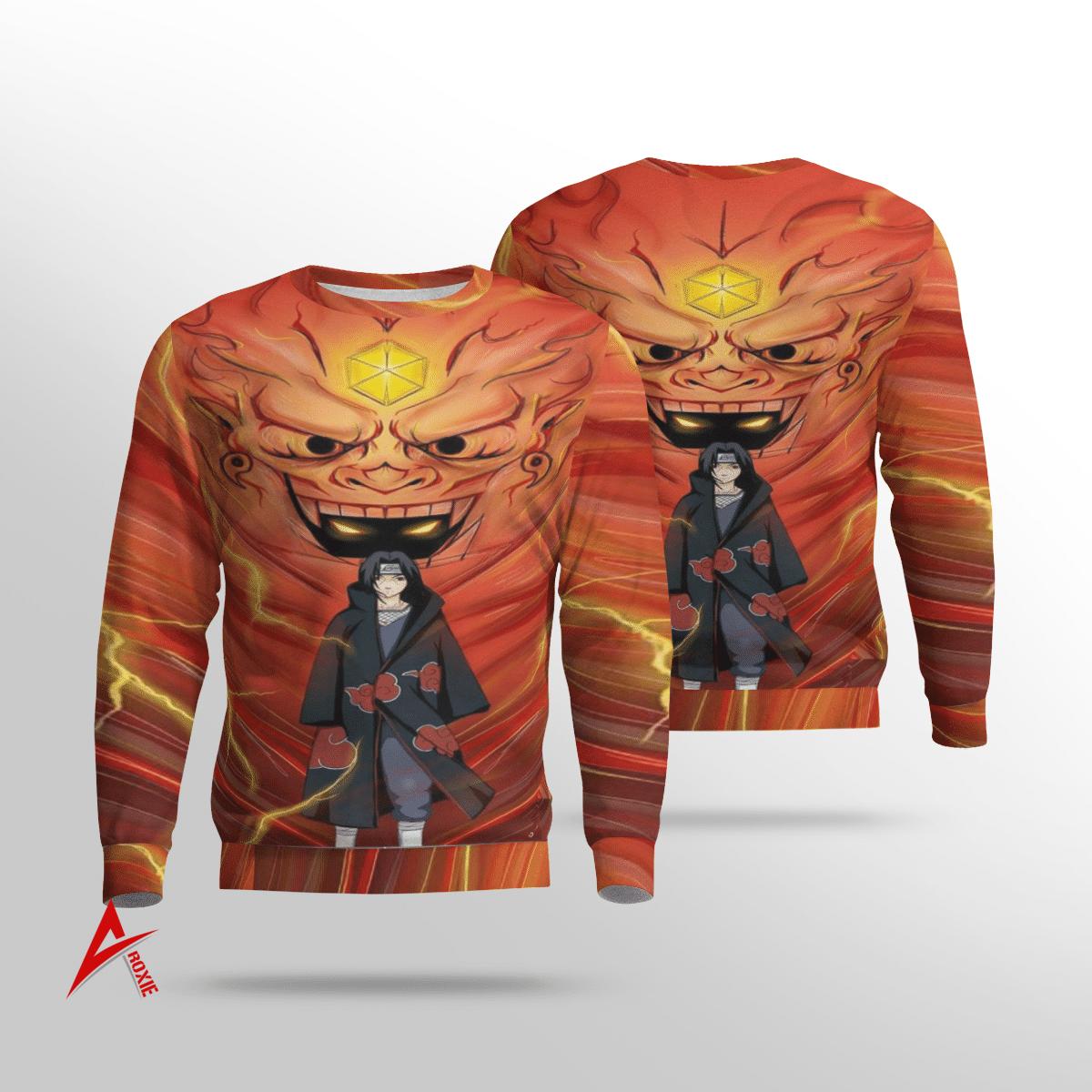 Itachi Uchiha Susano Sweatshirt 3D