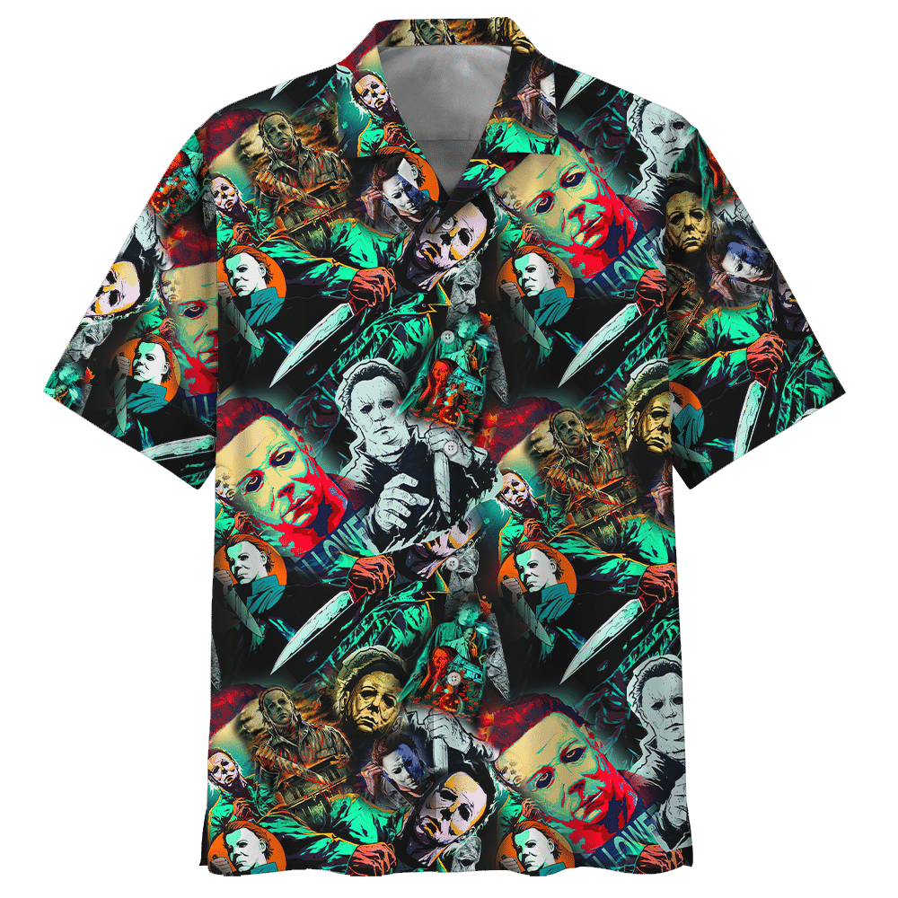 Michael Myers Horror Film Hawaiian Shirt