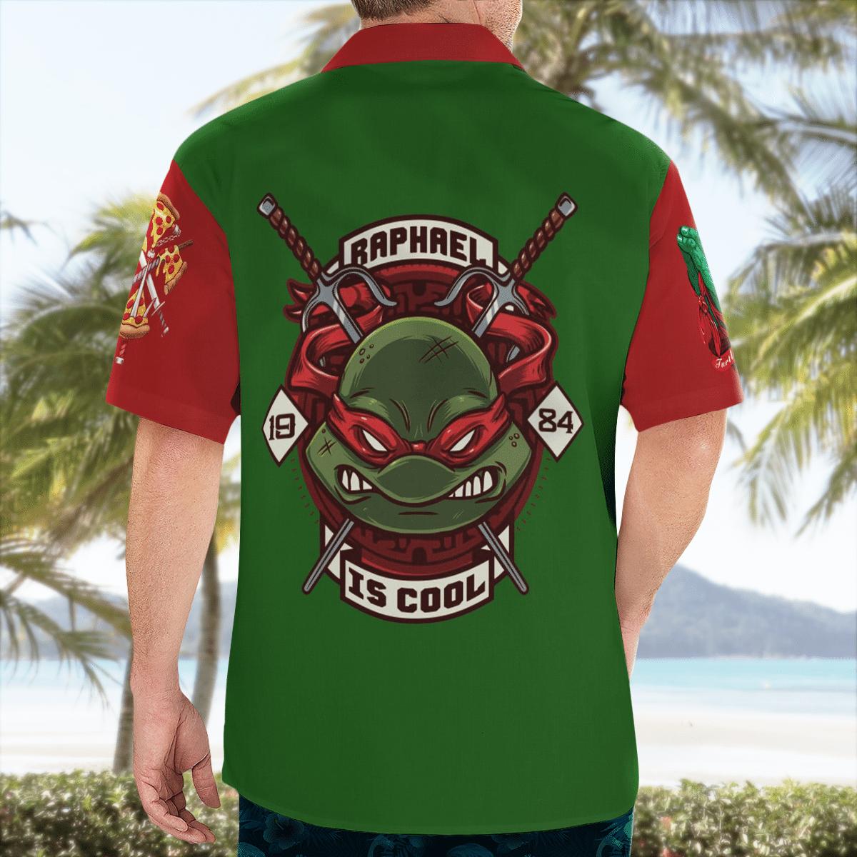 Teenage Mutant Ninja Turtles Raphael Hawaiian Shirt