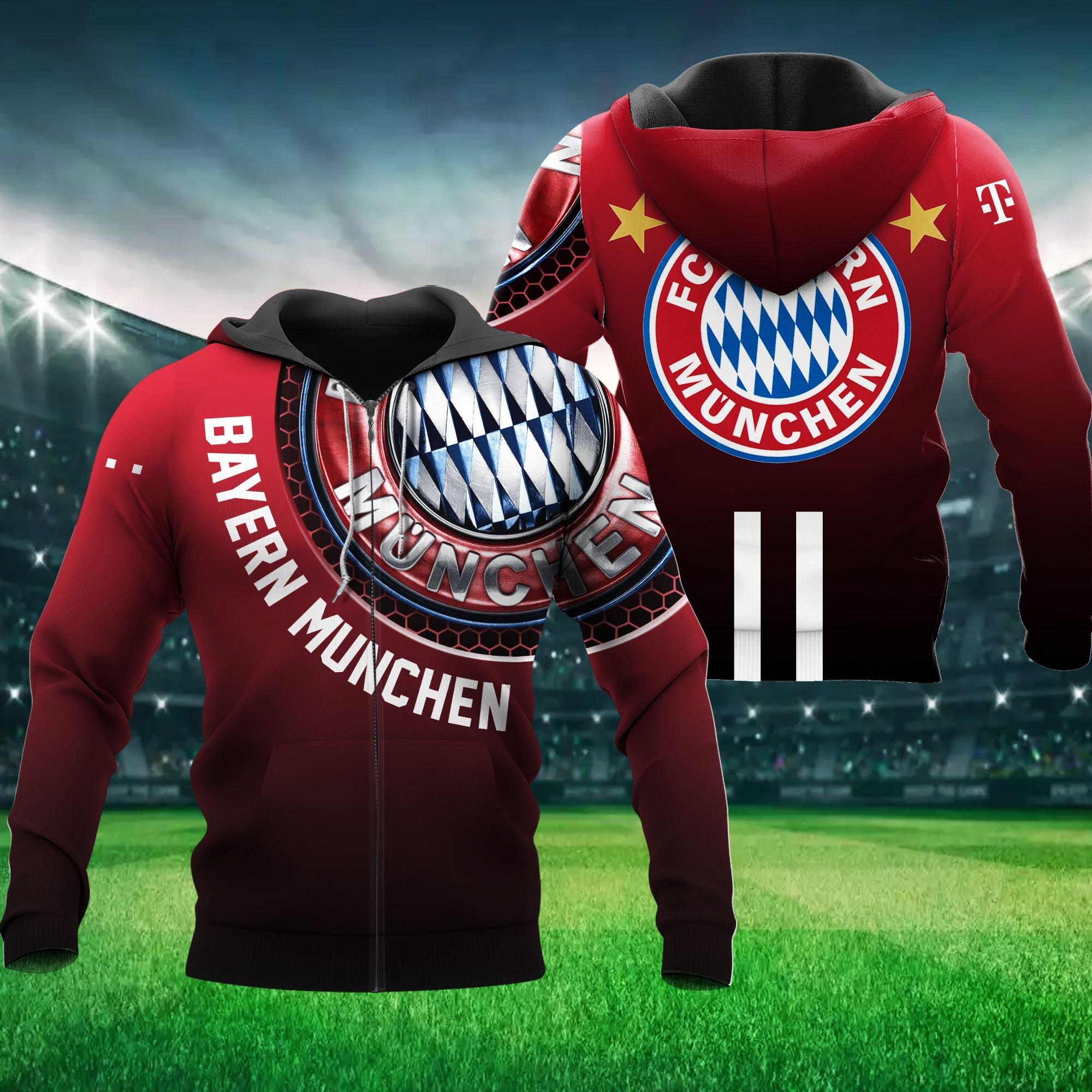 Bayern Munchen Hoodie 3D