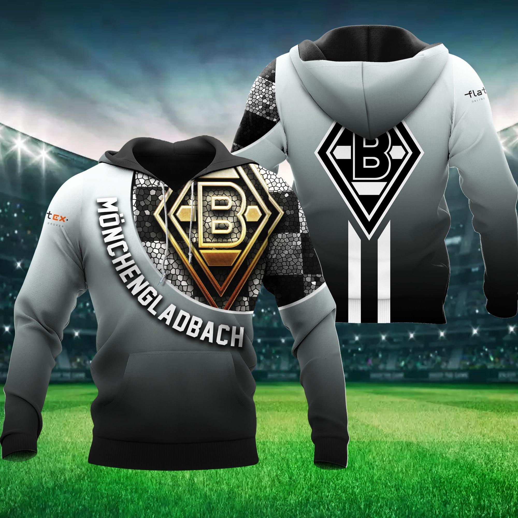 Monchengl Adbach 3D hoodie