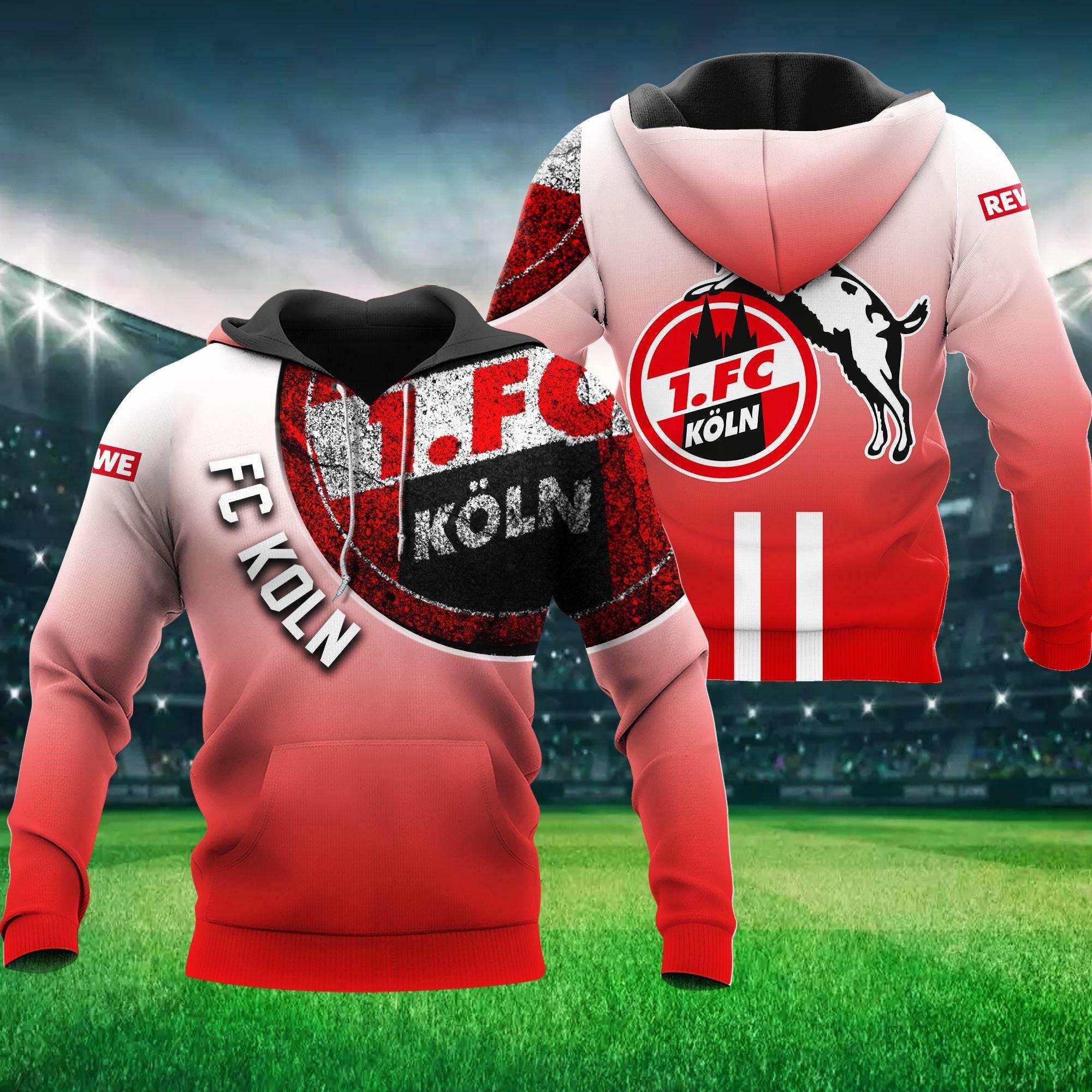 FC Koln Number 1 Hoodie 3D