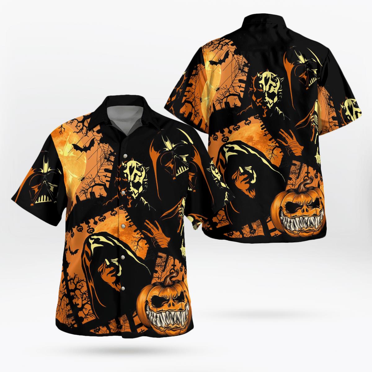 Halloween Sheev Palpatine Star wars Hawaiian Shirt