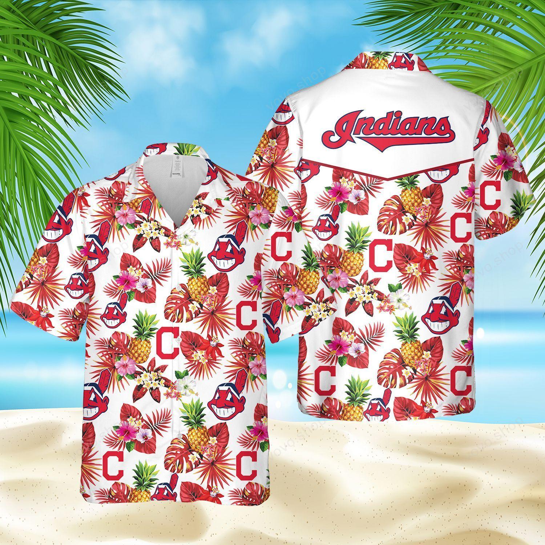 MLB Cleveland Indians Hawaiian Shirt