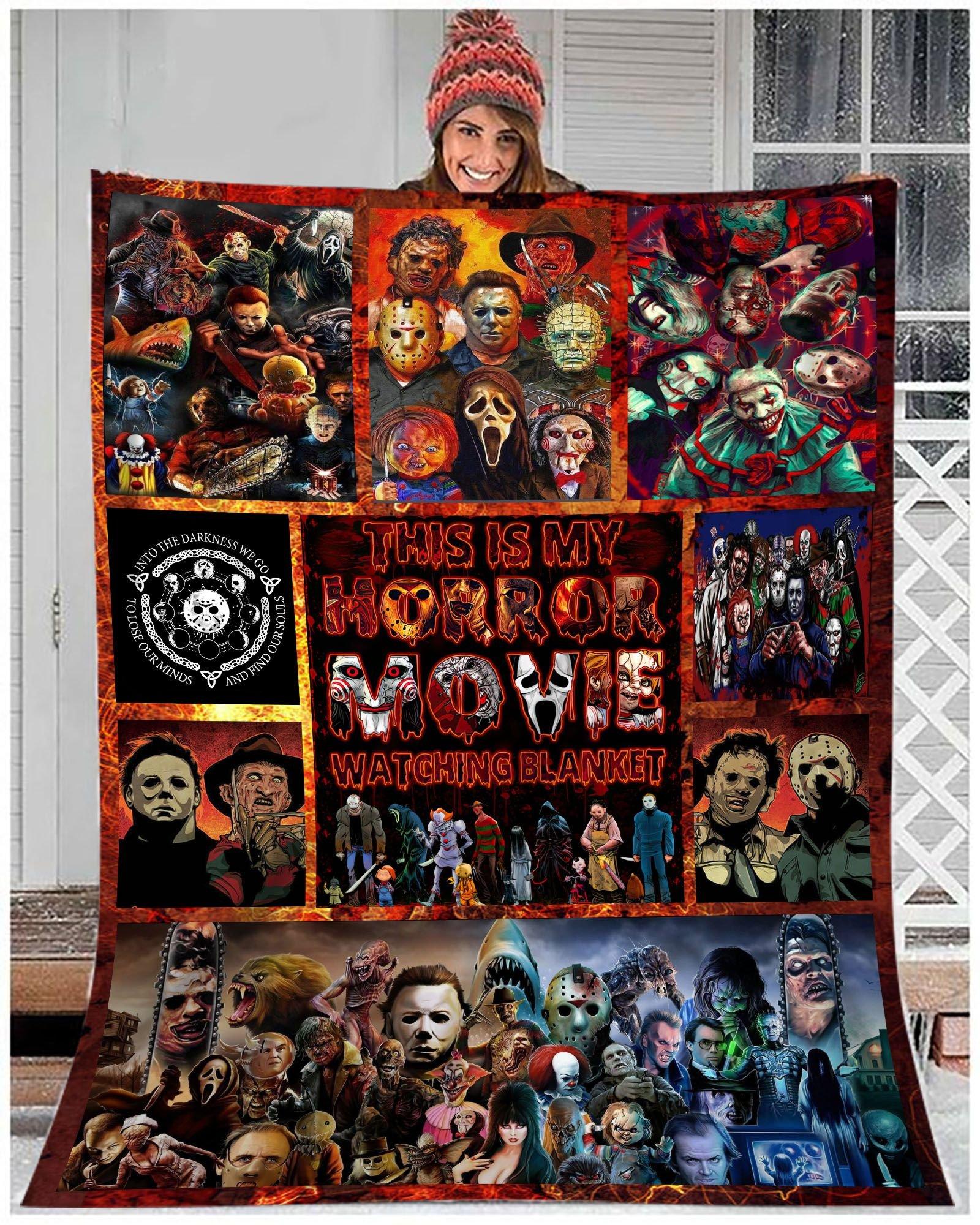 My Horror Movies Watching murder collection Premium Blanket