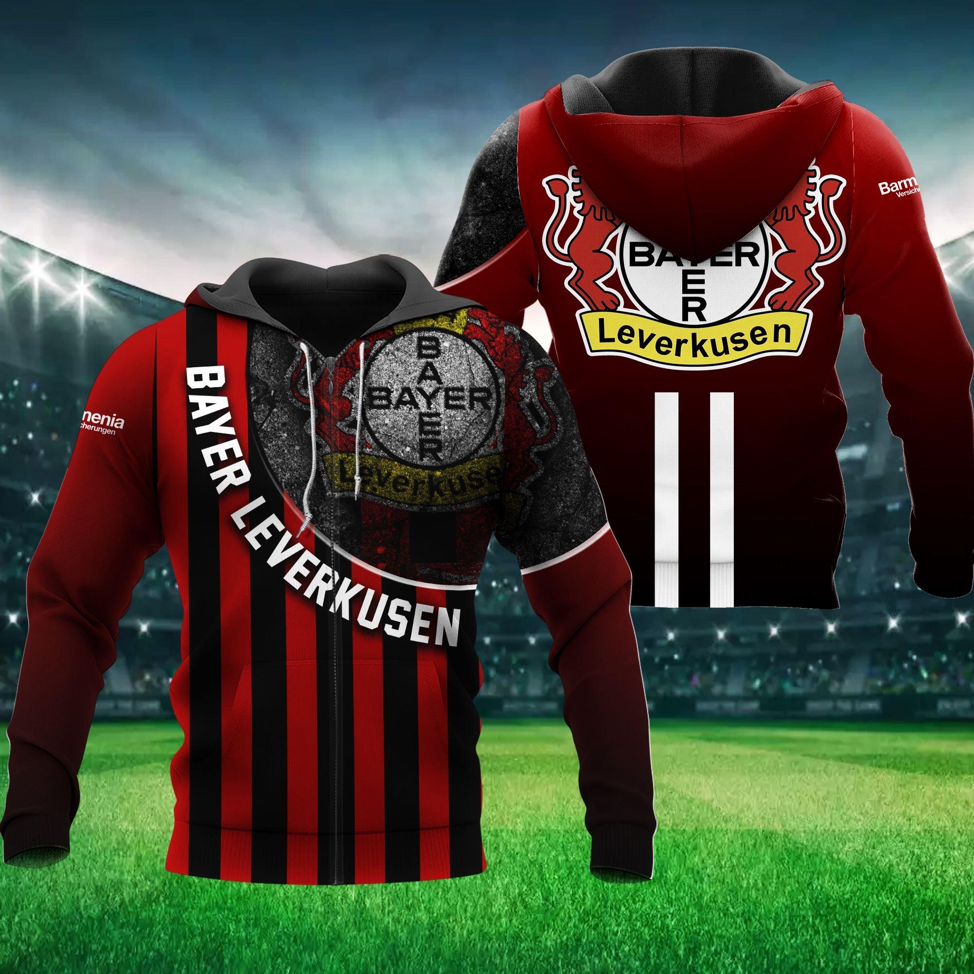 Bayer Leverkusen Football Hoodie 3D
