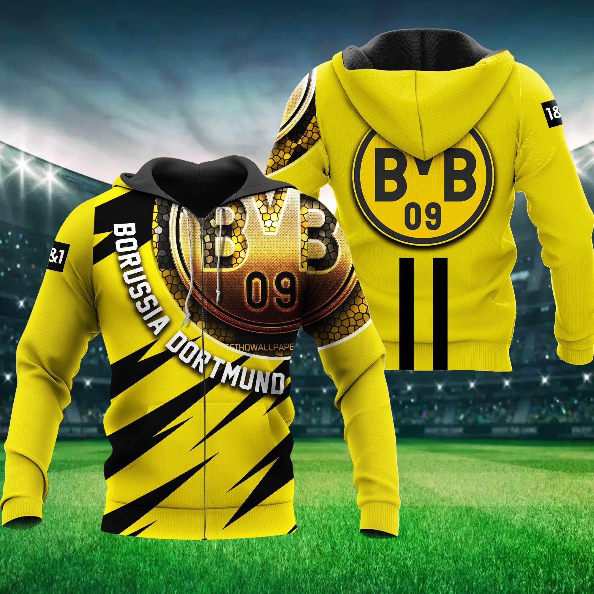 Dortmund Football Hoodie 3D