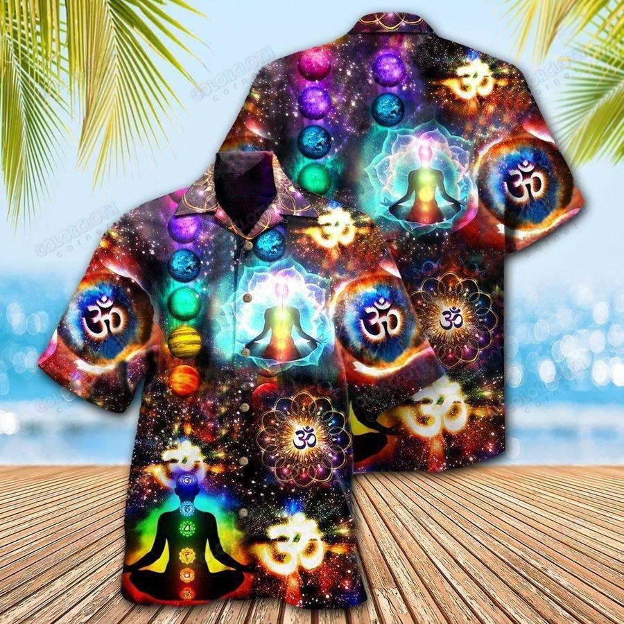 Yoga Take Time For Your Soul Hawaiian Shirt
