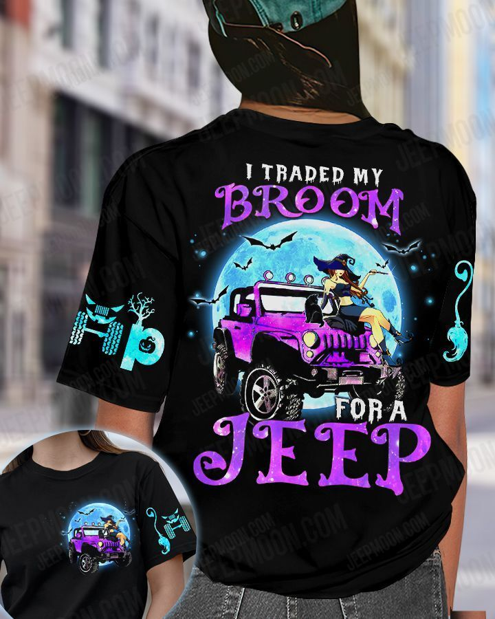Cool girl Witch traded my Broom for Jeep sweatshirt