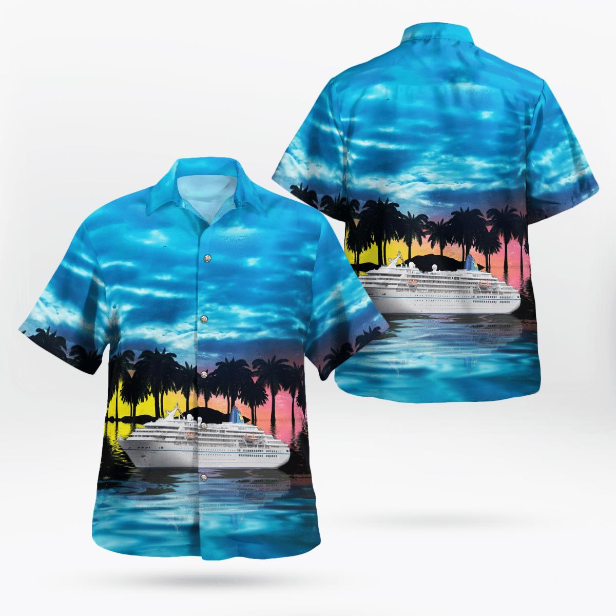 Phoenix Reisen MS Amadea Hawaiian shirt