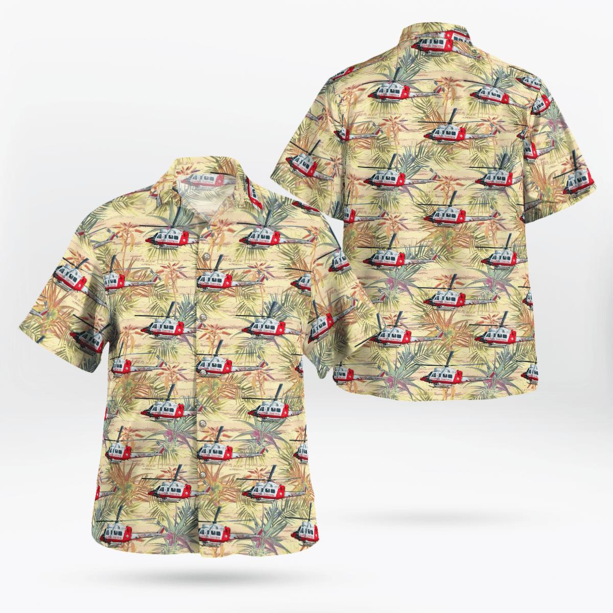 Servizio Aereo della Guardia Costiera Agusta Hawaiian shirt