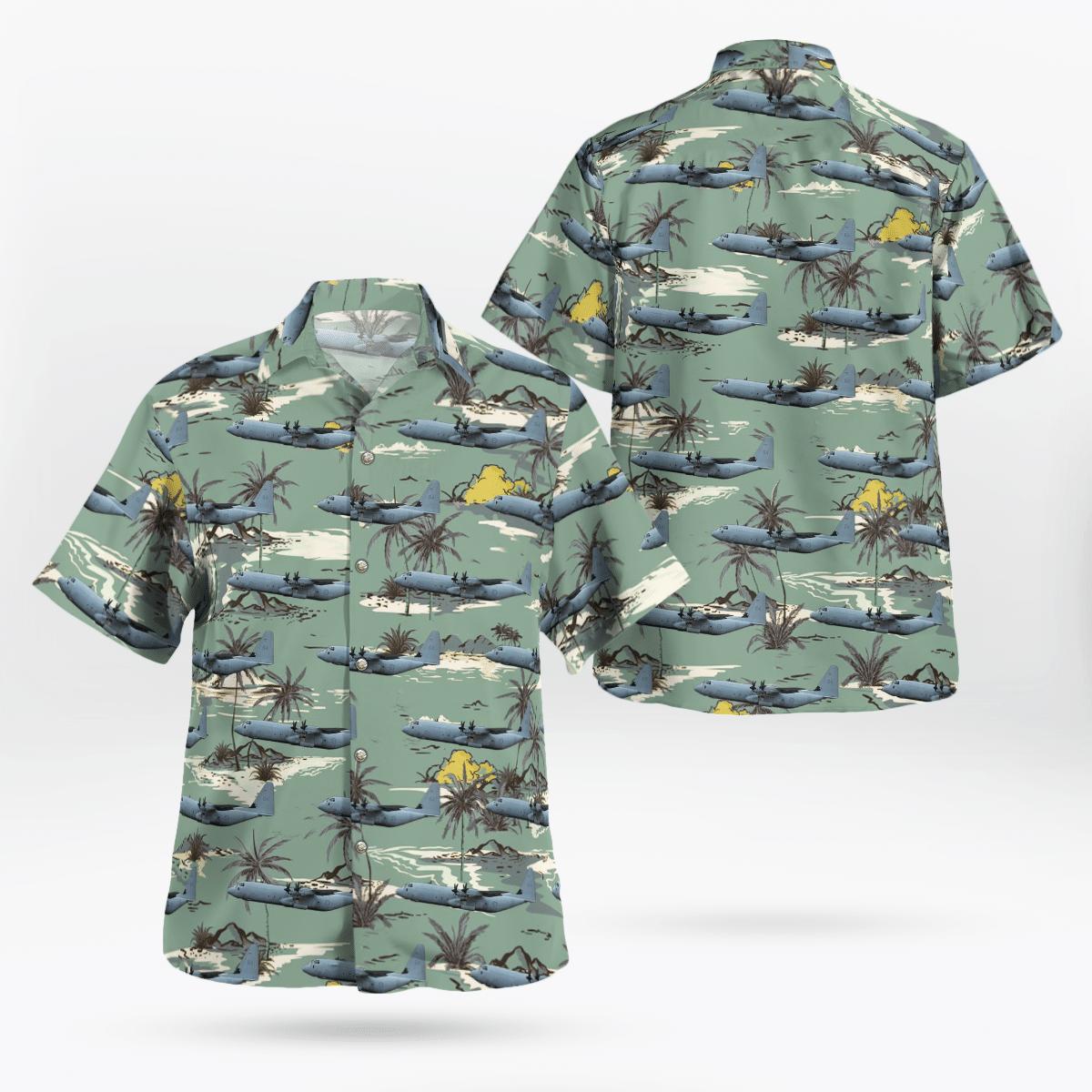 C-130J Super Hercules RAAF Lockheed Martin Hawaiian shirt