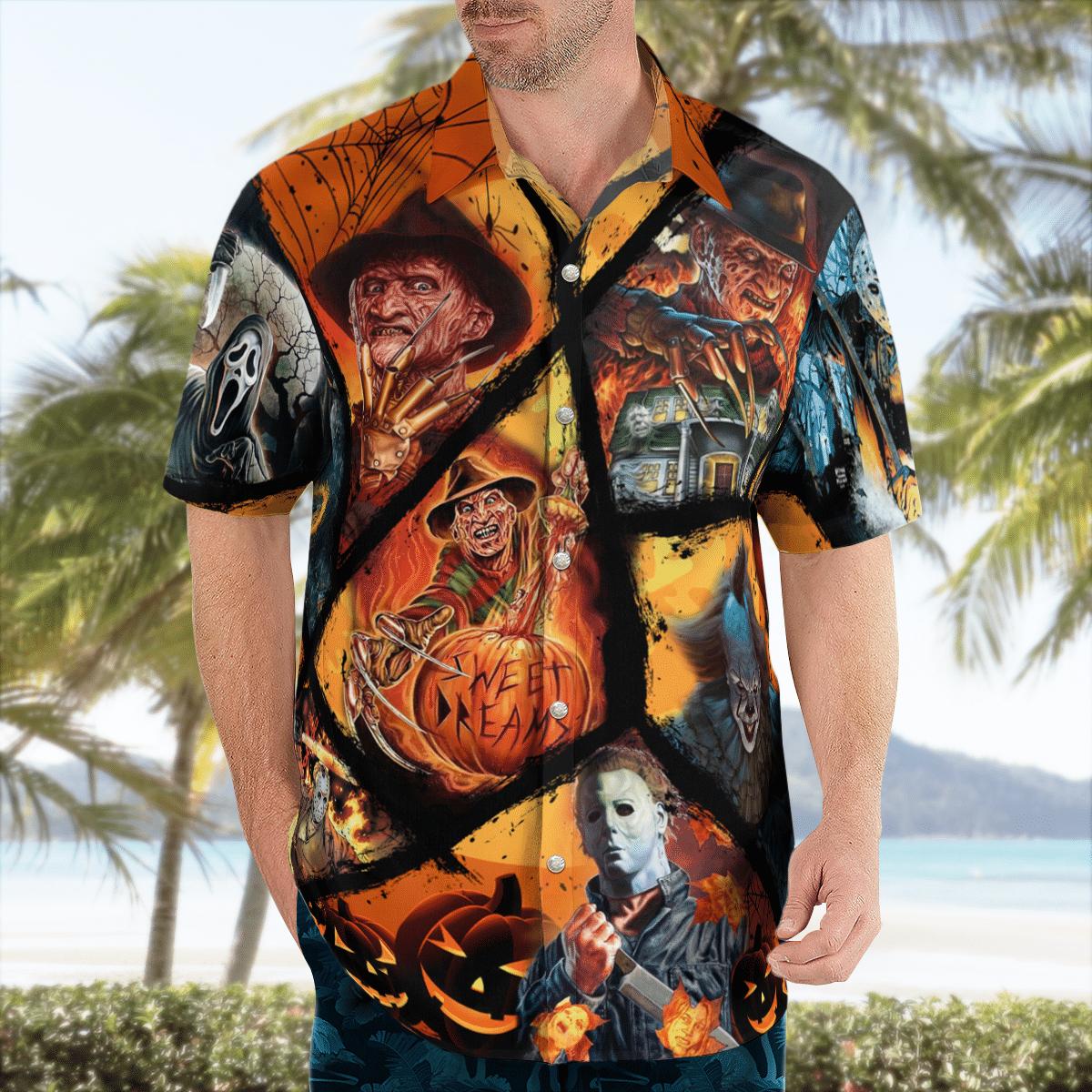 Halloween Just The Tip I Promise all slayer characters Hawaiian Shirt