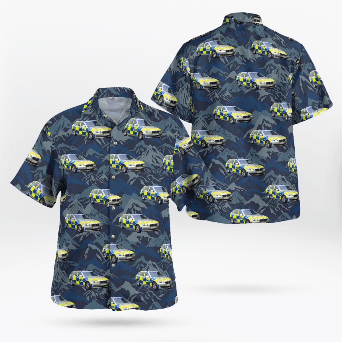 Metropolitan Police Area Car Hawaiian shirt