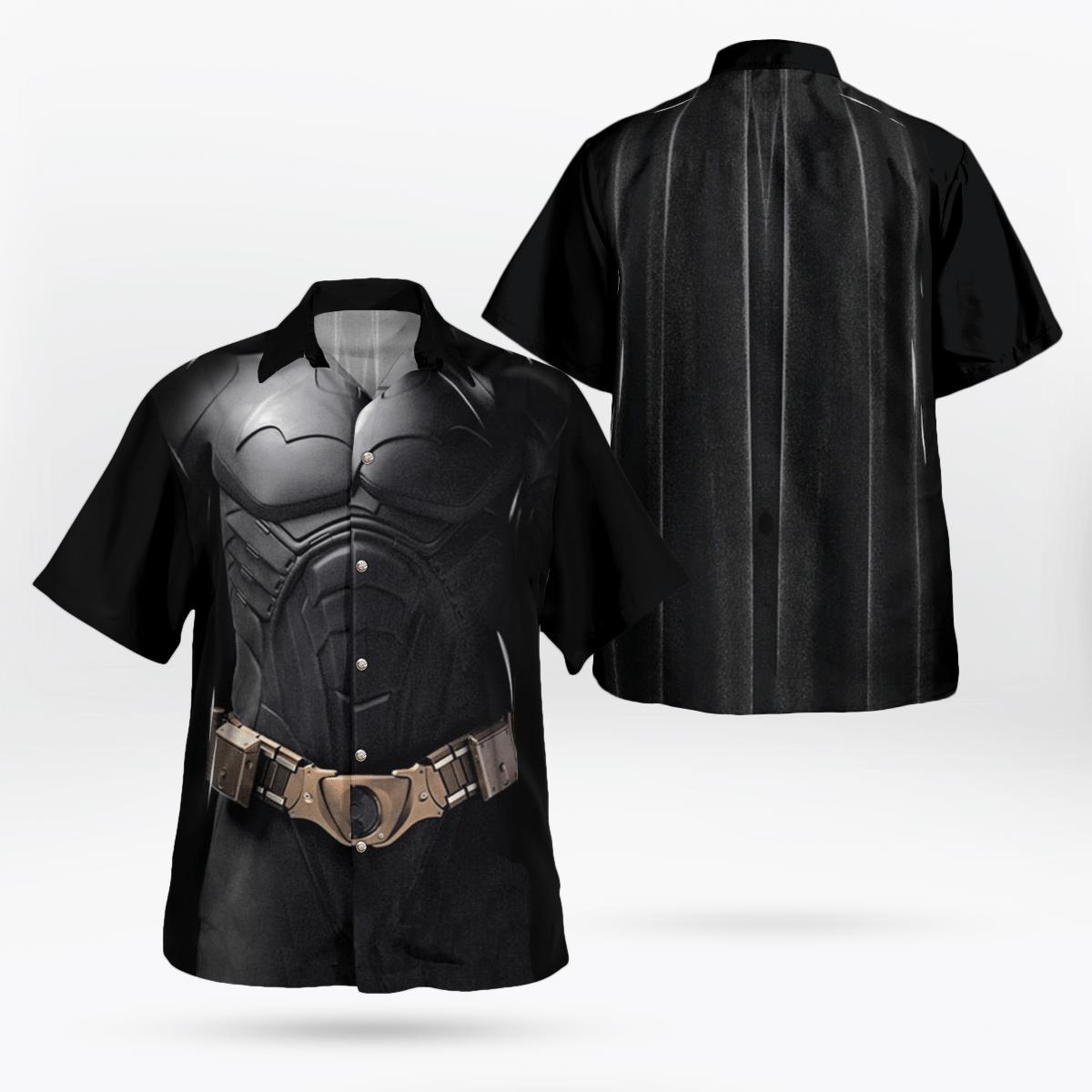 Batman Uniform 21 Century Hawaiian Shirt