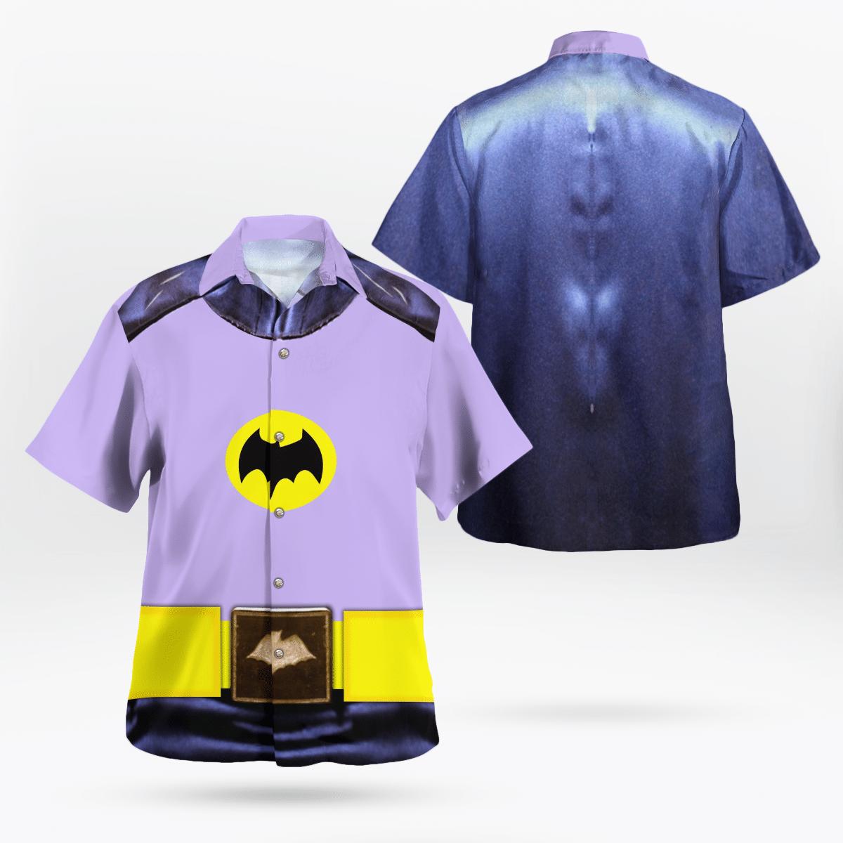 Batman Uniform 1966 Hawaiian Shirt