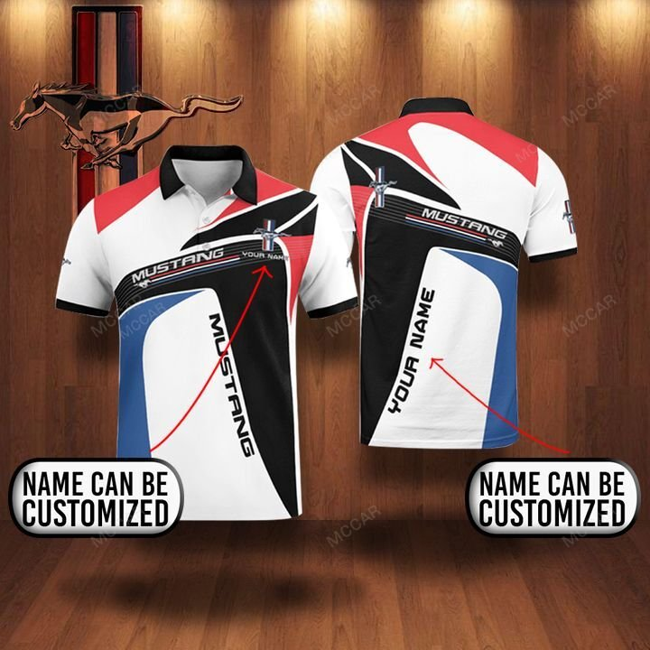 Personalized Mustang Premium Polo Shirt