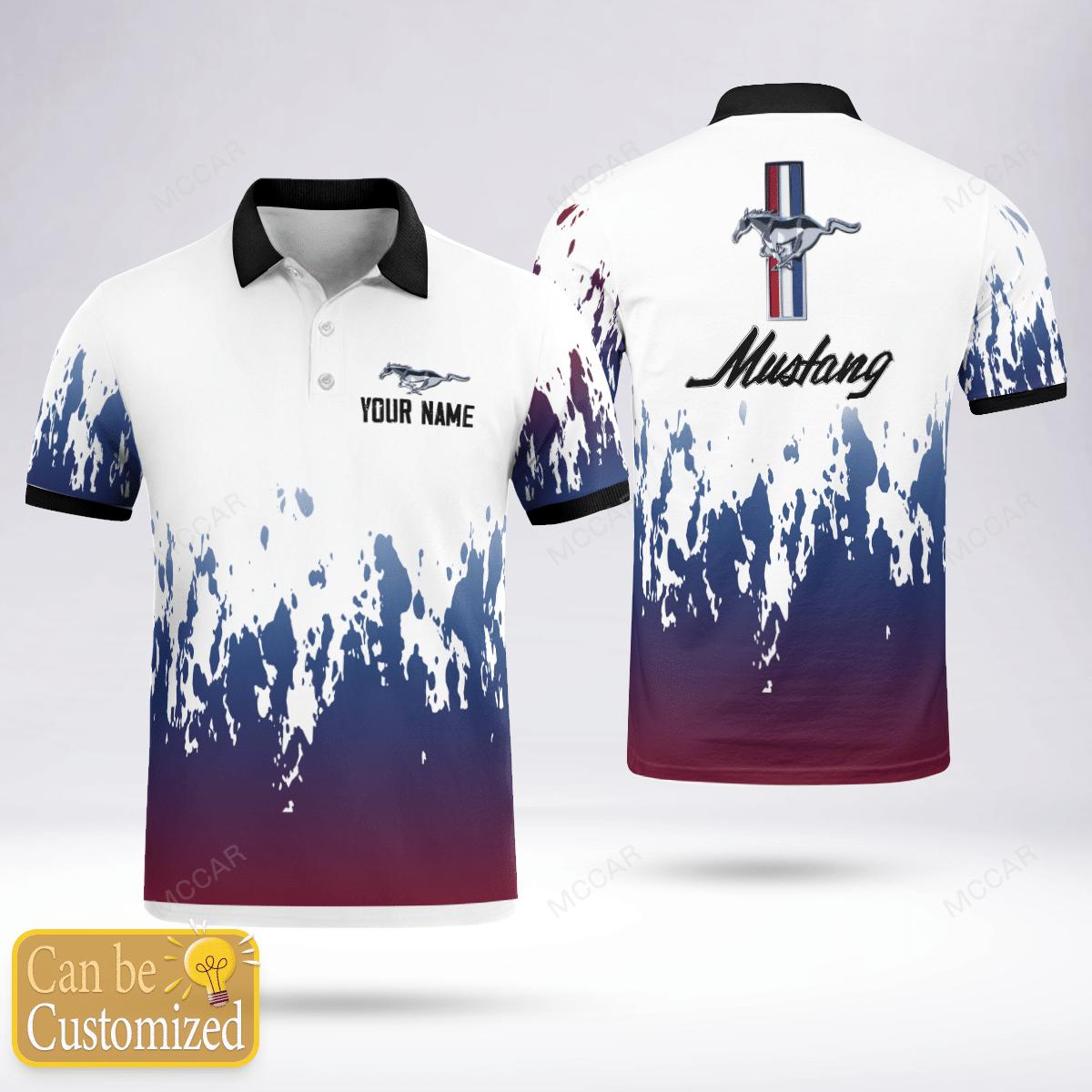 Mustang gradient Polo Shirt