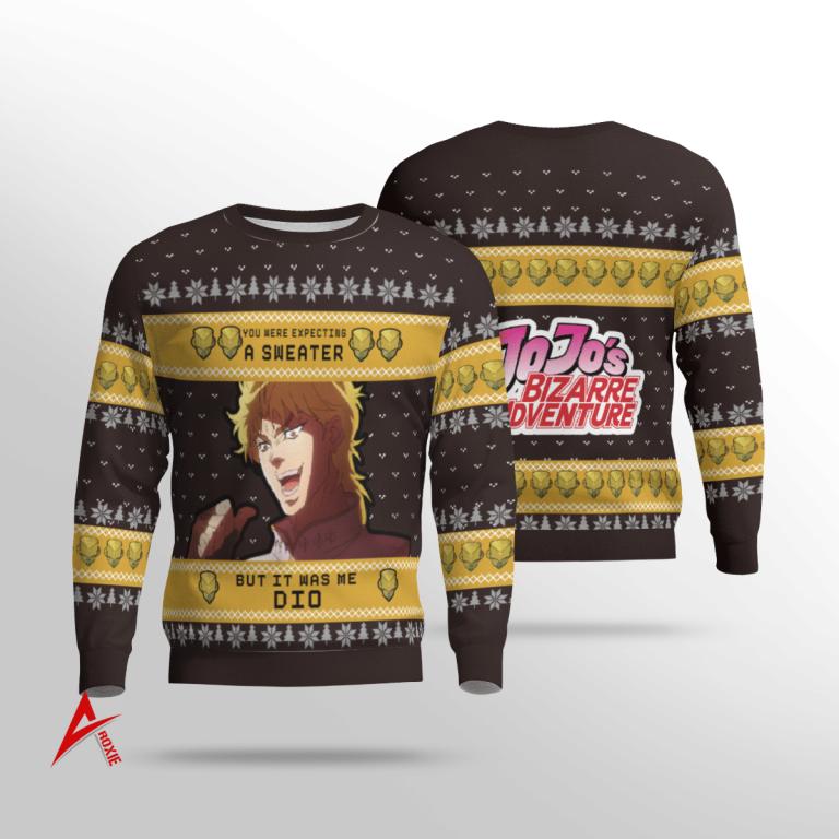 JoJos Bizarre Adventure Sweater 3D