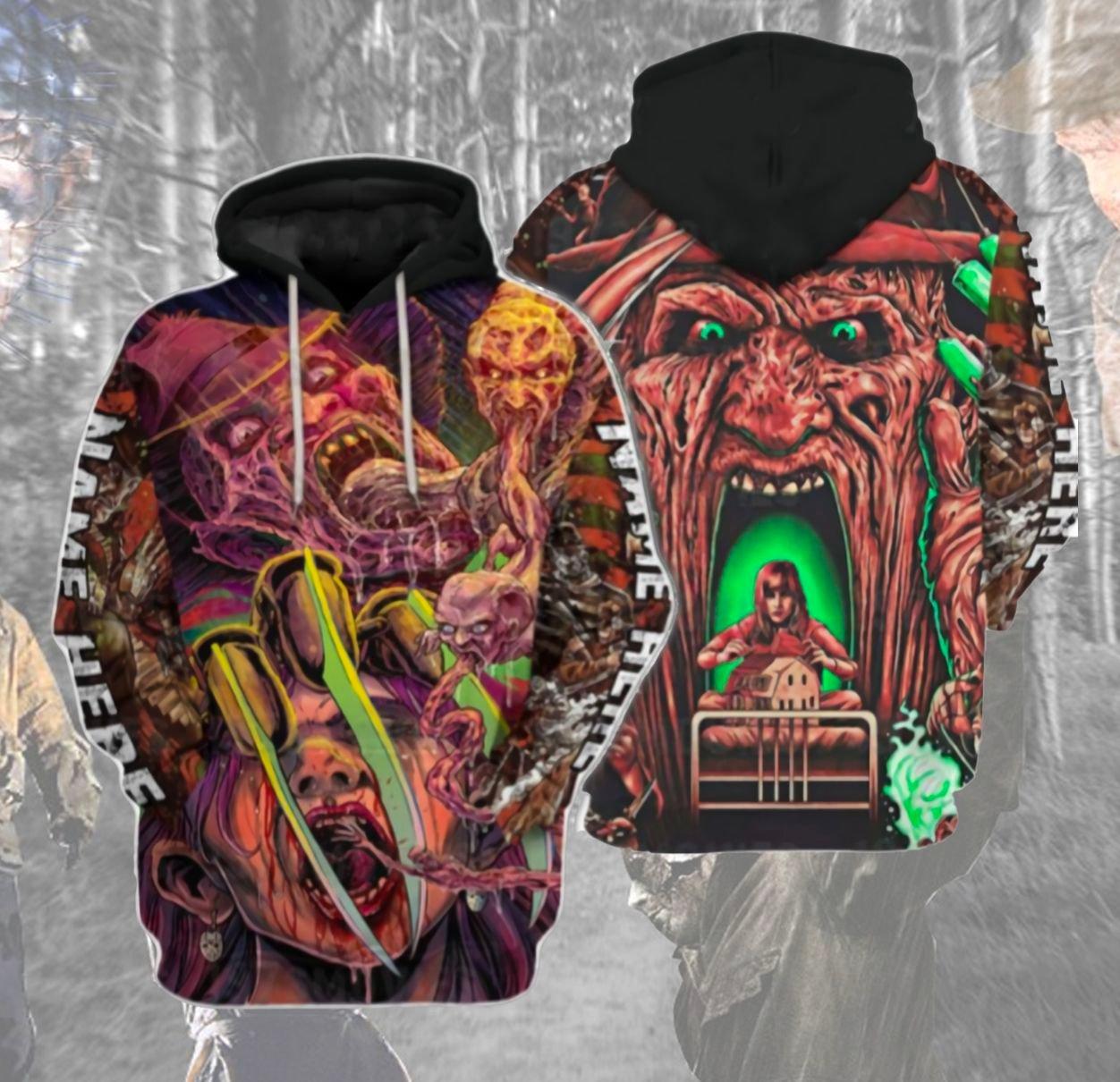 Horror Slasher Hoodie 3D
