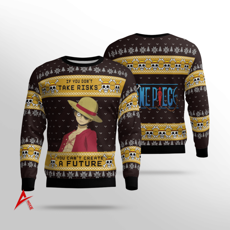 Monkey D Luffy Quotes Sweater 3D