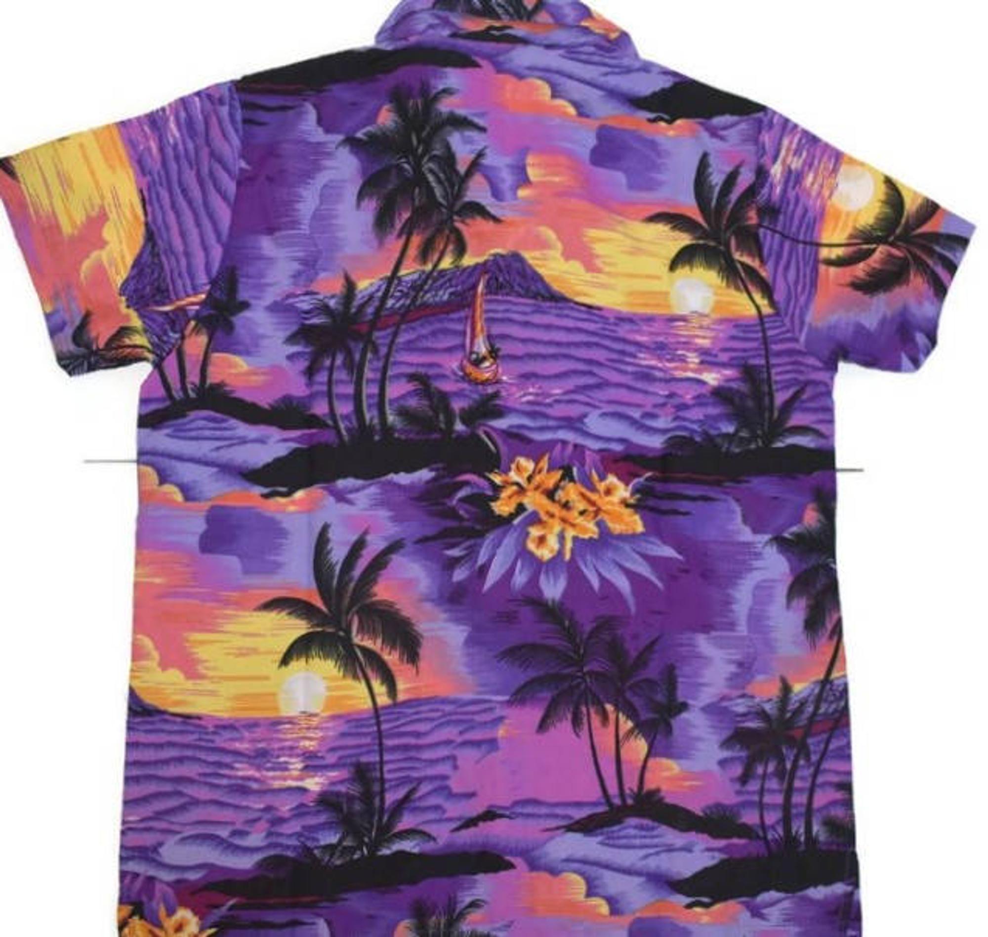 1980s for holiday party tropical aloha Hawaiian shirt 2