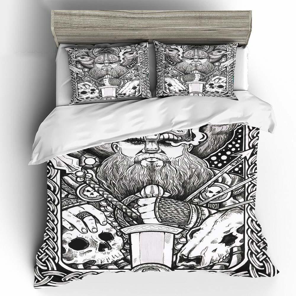 Viking Odin Art Bedding Set