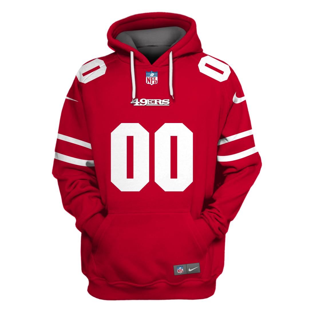 Personalized NFL san francisco 49ers Sport Hoodie sweatshirt