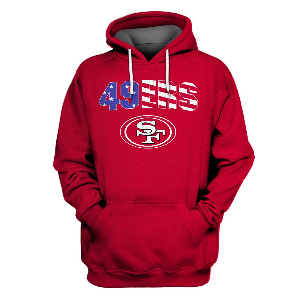 Custom Name Number San Francisco 49ers hoodie sweatshirt