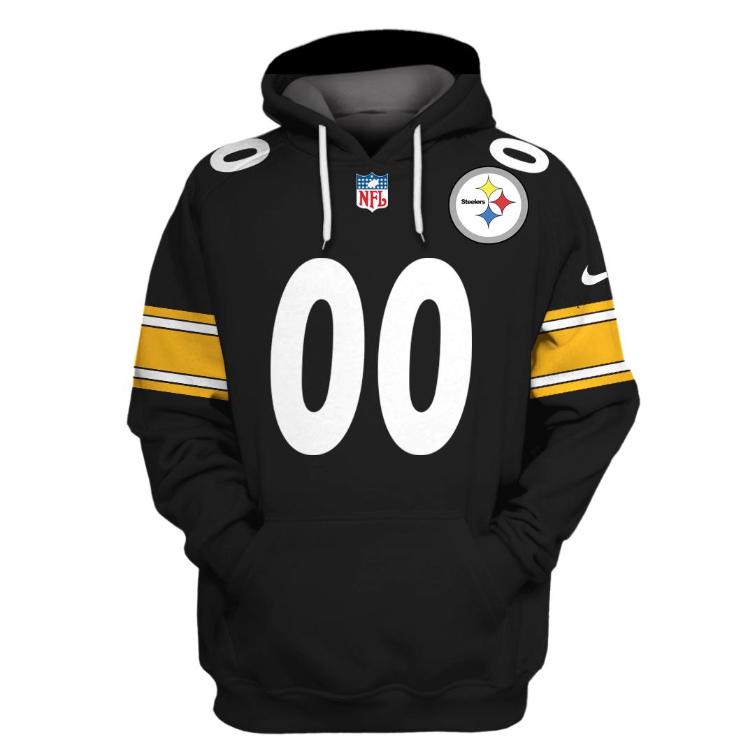 Personalized NFL Pittsburgh Steelers 3D Full Printing hoodie sweatshirt