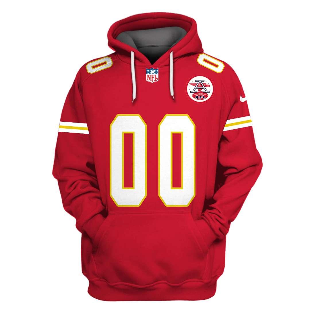 Personalized NFL Kansas City Chiefs Branded hoodie sweatshirt
