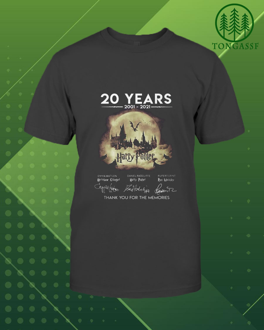 20 years of Harry Potter Thank for the memory