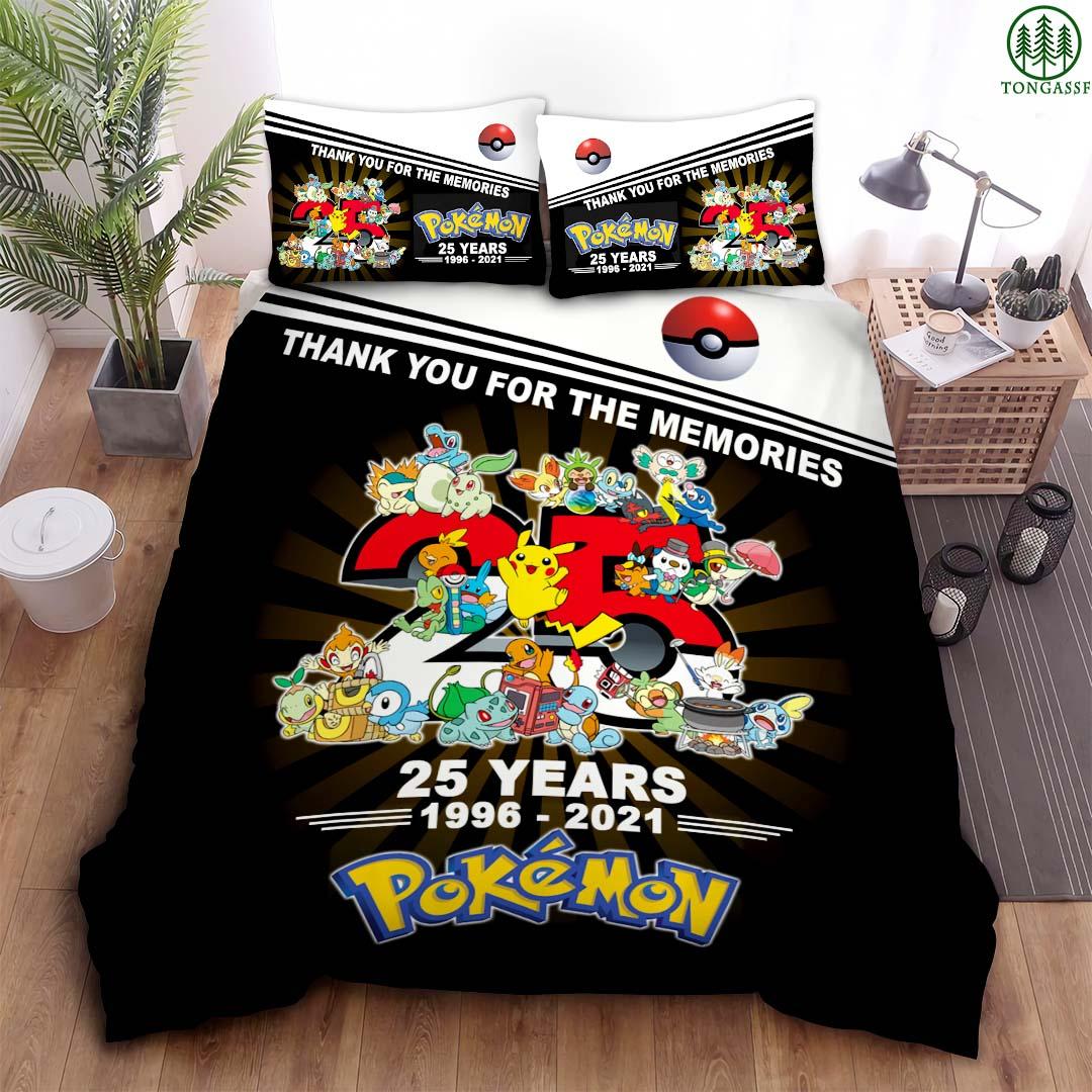 25 years anniversary Pokemon Bedding set