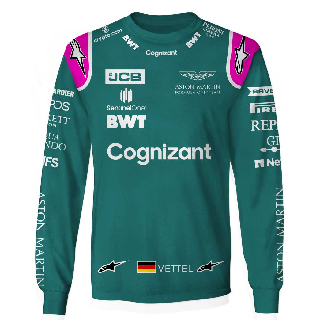 Cognizant Vettel Formula 1 unisex T Shirt and hoodie