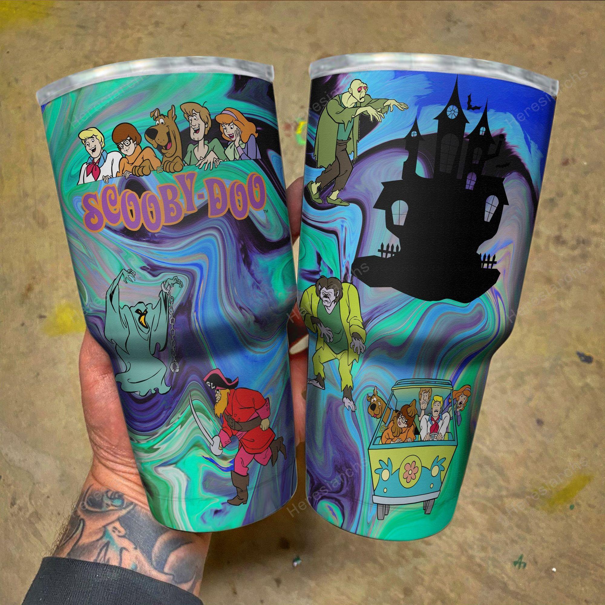 80s Cartoon Scooby Doo Tumbler 2