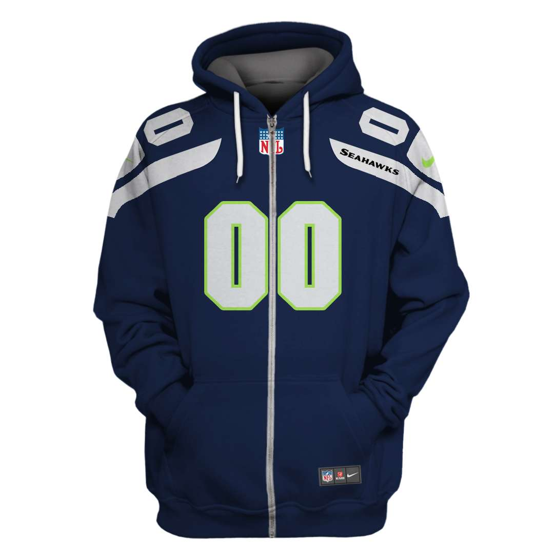 Personalized Seattle Seahawks Limited Edition 3D hoodie and T-shirt