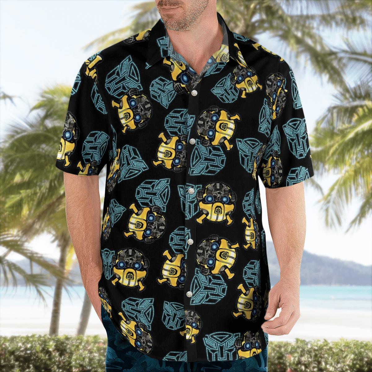 Transformers Bumblebee Hawaiian Shirt Summer Shirt