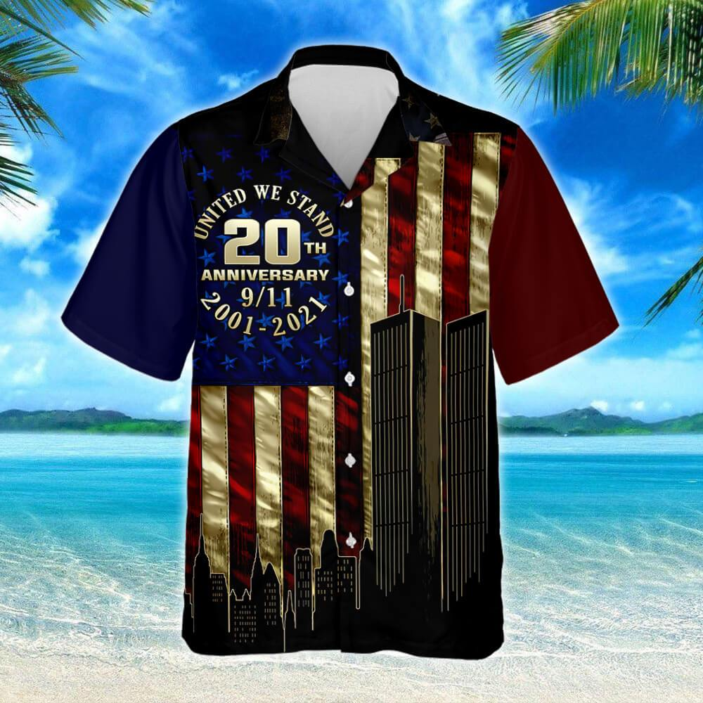 911 Never Forget Hawaiian Shirt 2