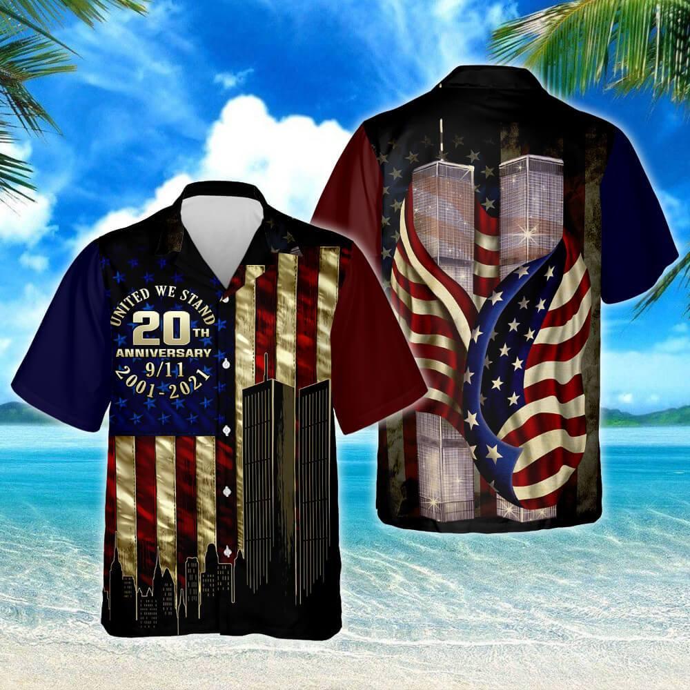 911 Never Forget Hawaiian Shirt