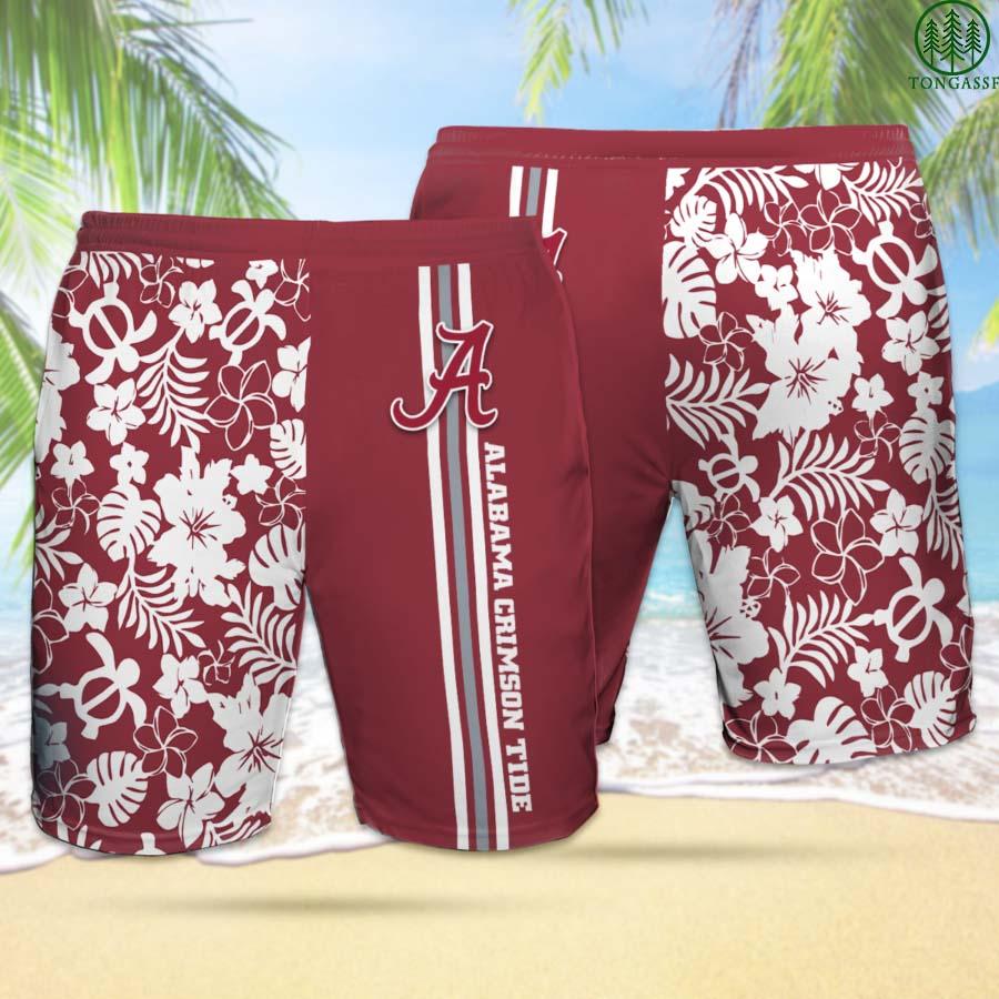 ACT ALABAMA CRIMSON TIDE Hawaiian Shorts