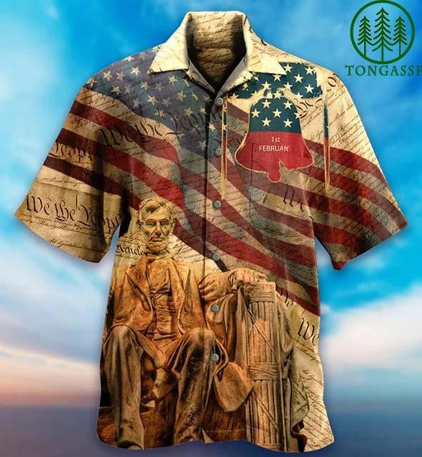 American Abraham Lincoln President Hawaiian Shirt