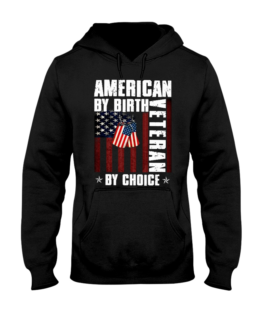 American by birth Veteran by choice Tshirt